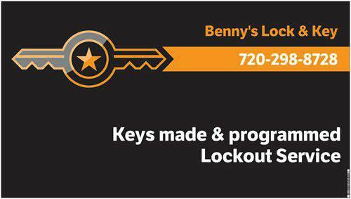 Benny's Lock & Key Cerrajero Denver CO